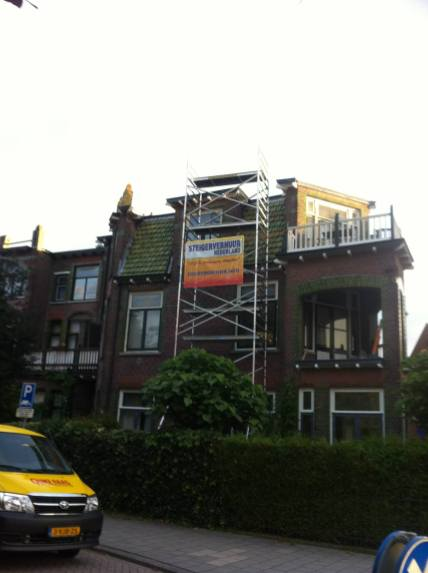 steigerverhuur reparatie aan woning