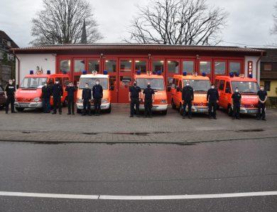 Feuerwehr organisiert FFP2-Masken Lieferung