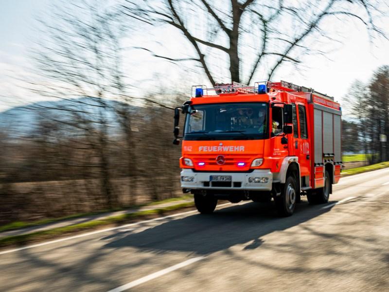 Bauarbeiten lösen Feuerwehreinsatz aus