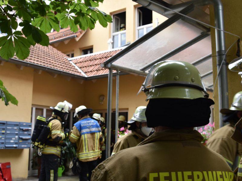 Wohnungsbrand im Städl