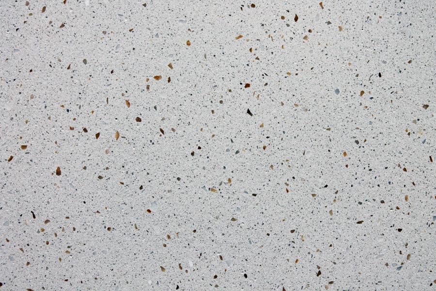Terrazzomuster 287 Weisser und Gelber Marmor