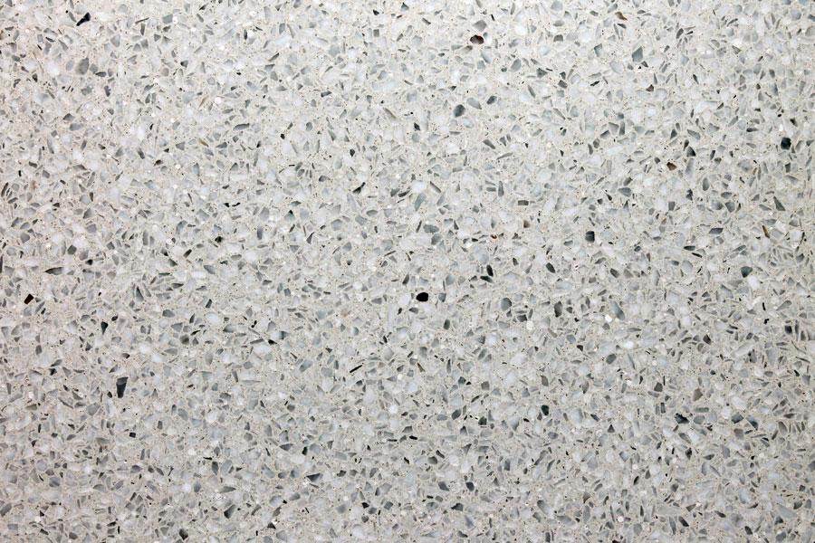 Terrazzomuster 303 Kristallweisser Carrara-Marmor