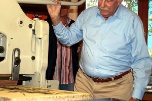 Königsdisziplin - Die alte Kunst des Steindrucks wurde in Tirol wiederentdeckt, Foto: Knut Kuckel