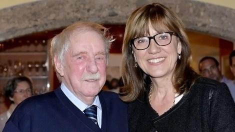 Walter Stecher und BR Anneliese Junker, Foto: Steindruckerei Stecher & Stecher