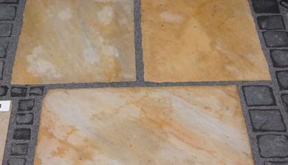 Natursteinplatten – Albino Yellow