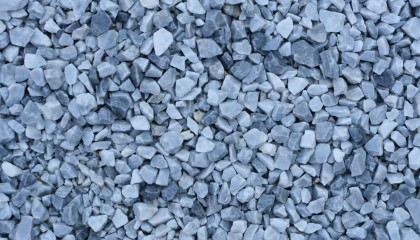 Marmor – Eisblau Splitt 20-30mm