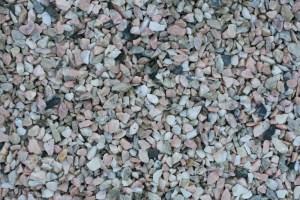 Marmor rosa-grau 8-16mm