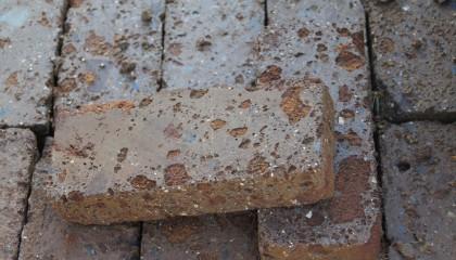 Mauersteine – Tuffstein Rosso klein