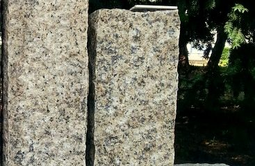 Palisaden – Granit gelb