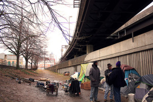Camp 83 Under Baltimore's Jones Falls Expressway To Be Evicted
