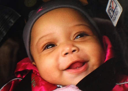 Jonylah Watkins, a 6-month-old who was shot in Chicago earlier this week