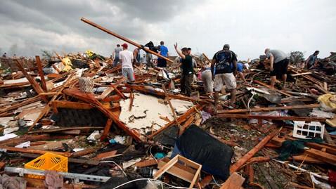 EF-4 Tornado in Moore, Oklahoma