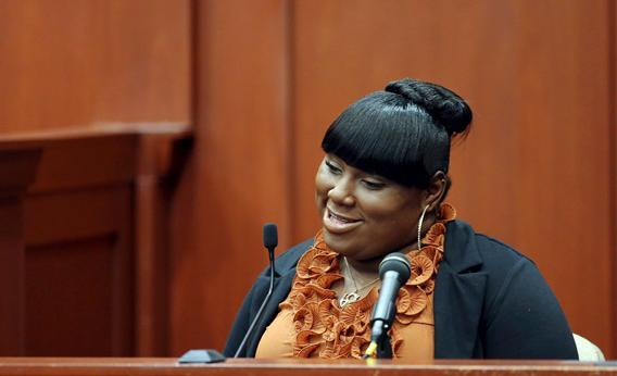 George Zimmerman Trial - Rachel Jeantel