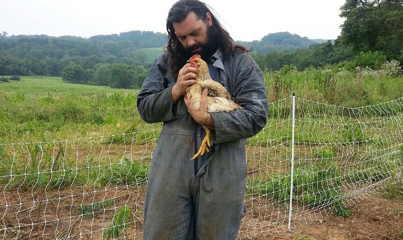 Steve Martinez of Pluma Feliz Farms