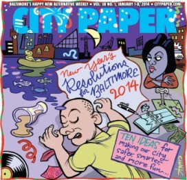 Baltimore - City Paper's New Year's Resolutions for Baltimore