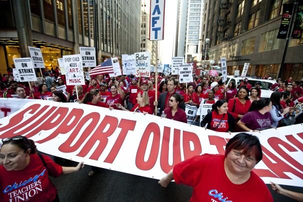 Chicago Schools Strike
