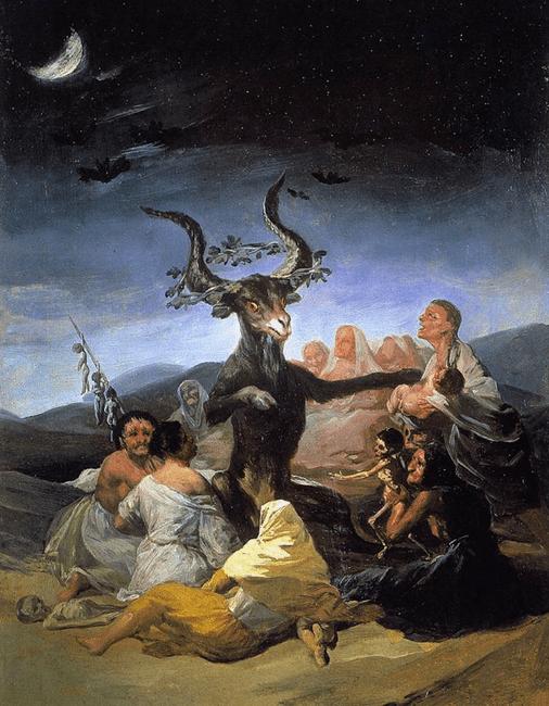 Francisco Goya painting
