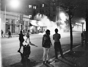 Mt. Pleasant riots in Washington DC, 1991
