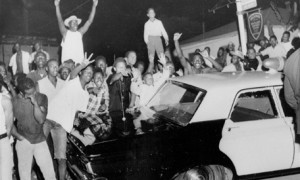 Watts race riots