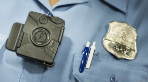 A body camera from Taser is seen during a press conference at City Hall September 24, 2014 in Washington, DC. The Washington, DC Metropolitan Police Department is embarking on a six- month pilot program where 250 body cameras will be used by officers. AFP PHOTO/Brendan SMIALOWSKI (Photo credit should read BRENDAN SMIALOWSKI/AFP/Getty Images)