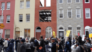 Voices of the Freddie Gray protest