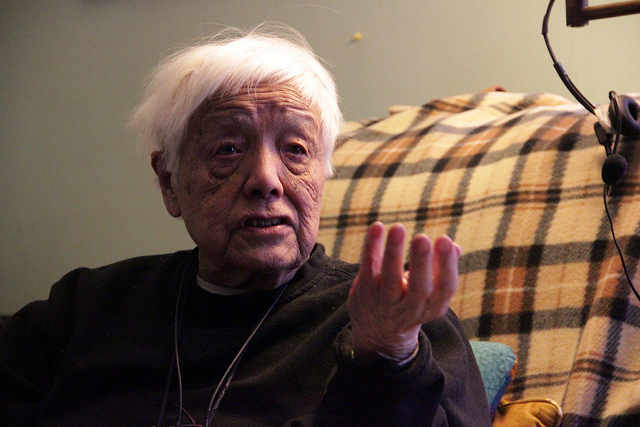 Grace Lee Boggs (Photo Credit: Kyle McDonald on Flickr)