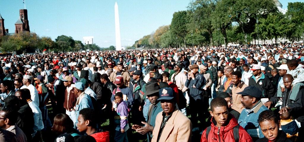 Million Man March 1995 (Credit: Wikimedia - Yoke Mc / Joacim Osterstam)