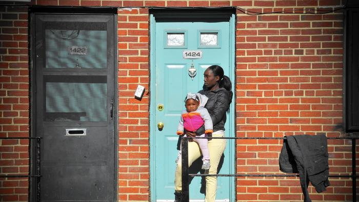 Baltimore City Housing (Credit: City Paper)