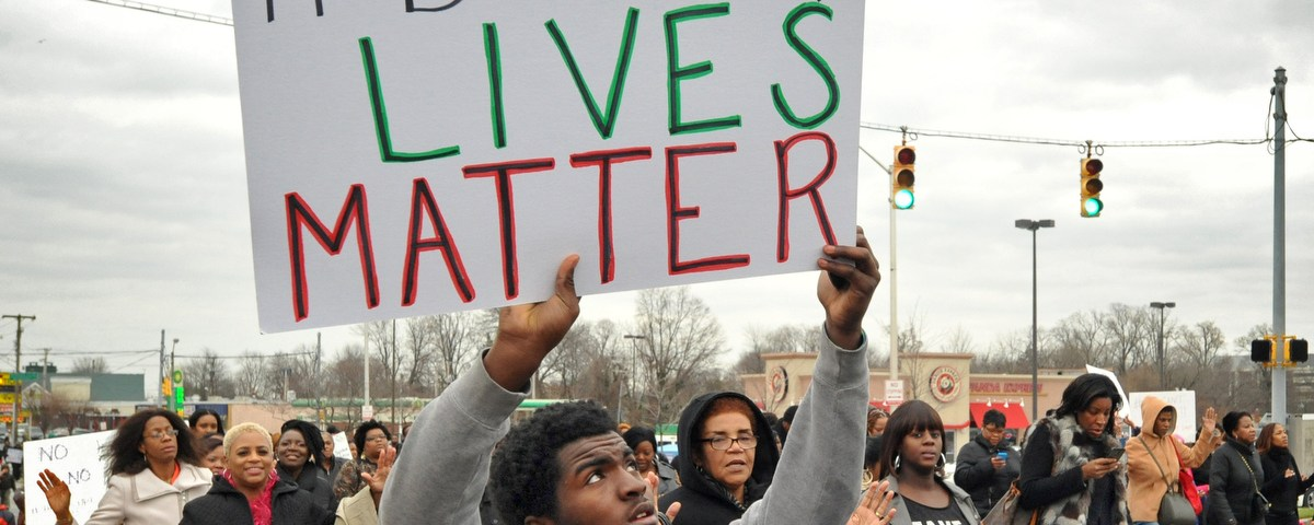 Black Lives Matter Baltimore Protest (Credit: The Baltimore Sun)