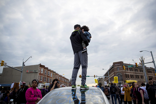 Baltimore Uprising (Credit: Salon Magazine)