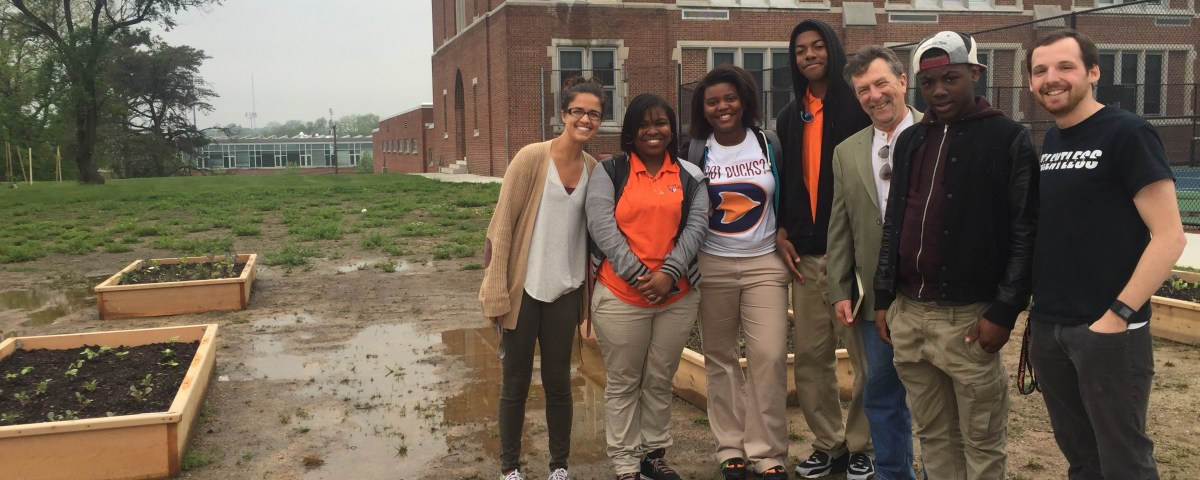 Douglass High School in Baltimore