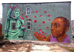 Mural by Nether and Stefan Ways in Baltimore