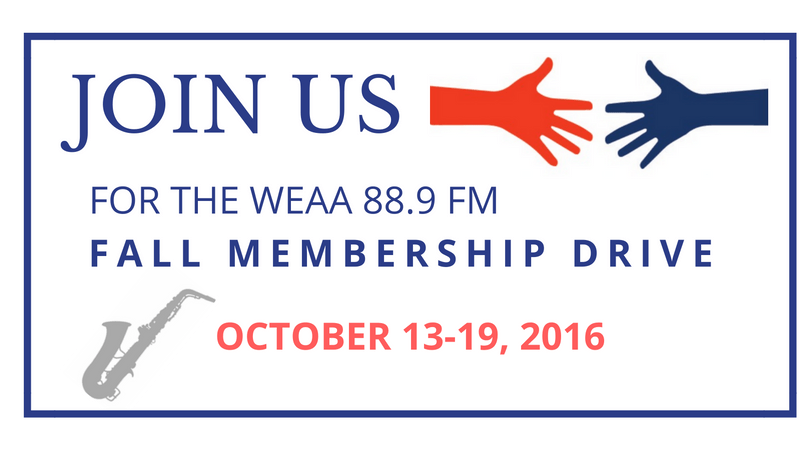 Fall Membership Drive (Credit WEAA)