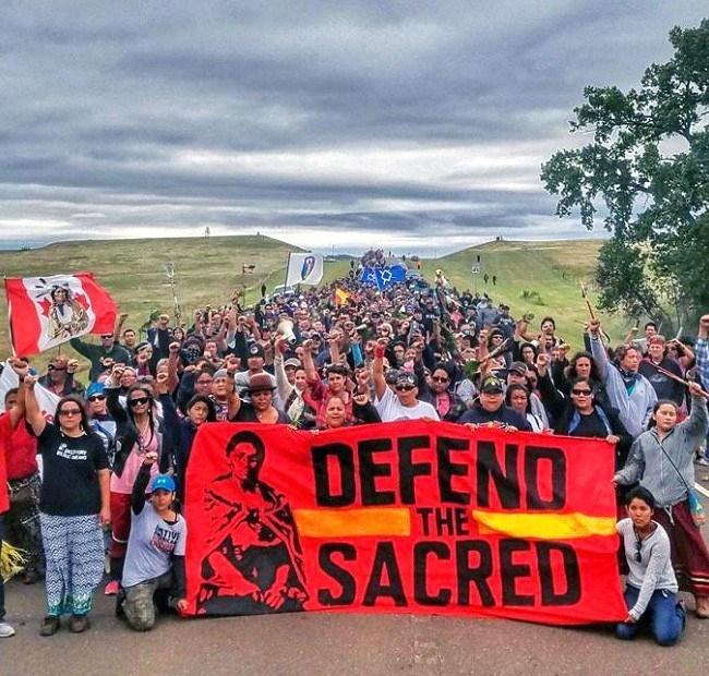 Dakota Access Pipeline (Credit: EcoWatch)