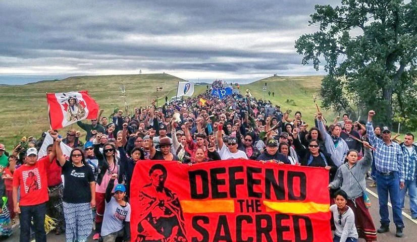 Dakota Access Pipeline (Credit: EcoWatch)
