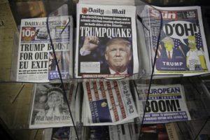 International NewsPapers (Credit: WUNC)