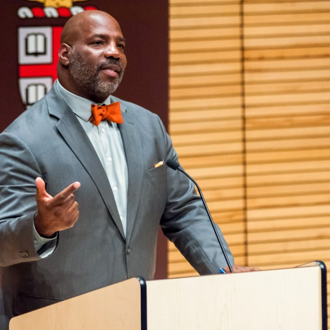 Jelani Cobb (Brown Daily Herlad)