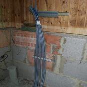 Kabel im Stellwerk