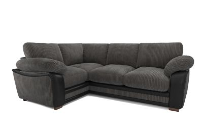 furniture village leather corner sofa bed light grey room ideas sofas buy fabric harveys featherby right hand facing group