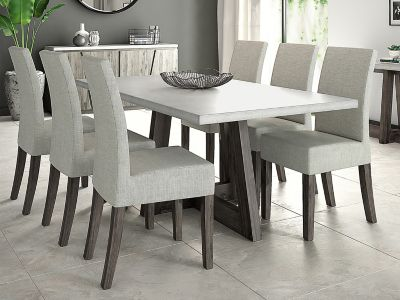 white 6 chair dining table covers los angeles room furniture up to half price sale harveys lexham chairs