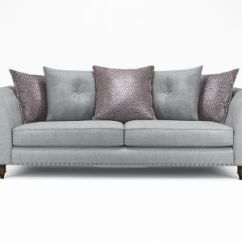 Grey Leather Corner Sofa Uk Lane Sleeper Sofas Buy Fabric Harveys Furniture Elixer 4 Seater Pillowback