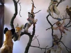 Plüschtiere im Spielzeugmuseum