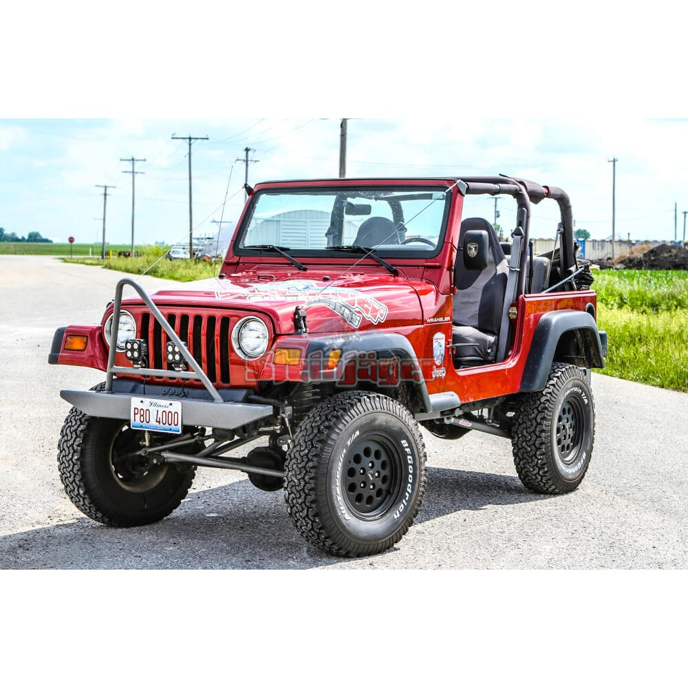 medium resolution of jeep wrangler tj tricked out package 1997 2006 4 inch lift long travel kit included manual transmission