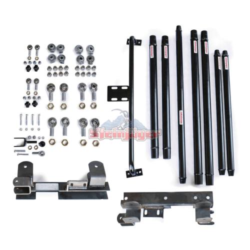 small resolution of wrangler tj long arm travel kit