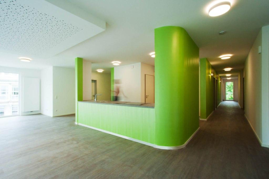 15-731_Neubau Dementen-WG_Wohnbereich-Küche