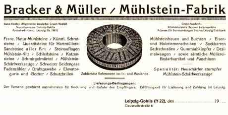 Anzeige Bracker & Müller