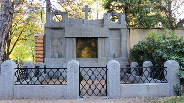 Grabmale Südfriedhof Leipzig