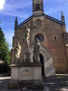 Kreuzigungsgruppe an der Heilig-Kreuz-Kirche Görlitz