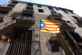The amount of flags you can see walking through the streets of Barcelona tells you that you are visiting a proud population.