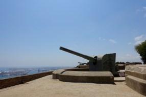 Cannon at Castell de Montjuïc